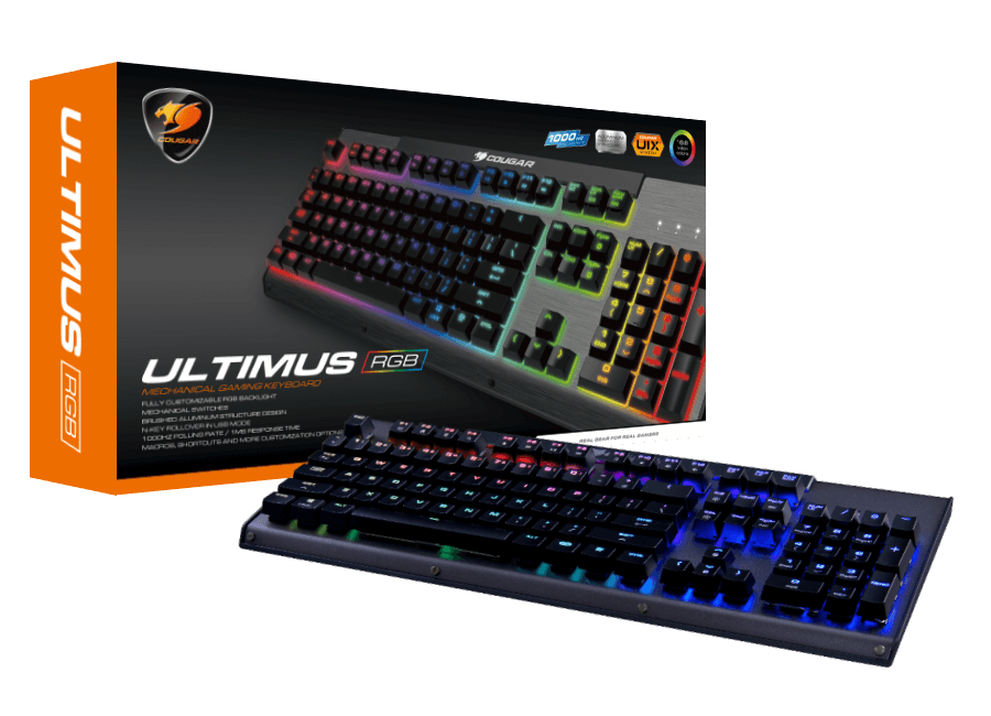 Cougar Ultimus RGB Backlit Mechanical Gaming Keyboard